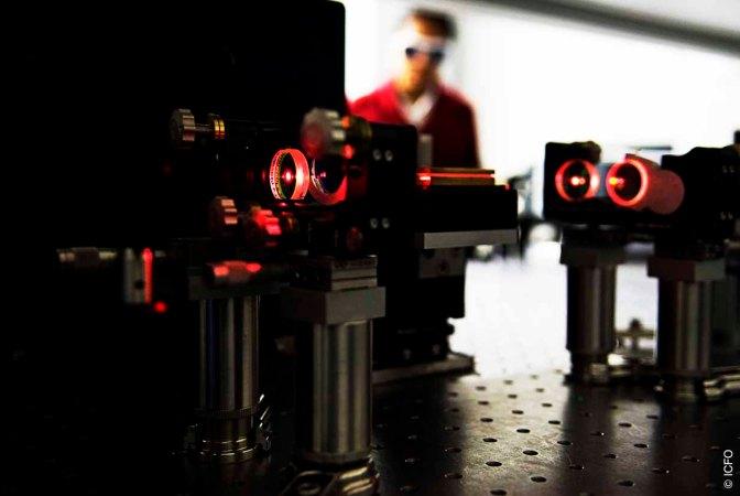 Sin los actuales avances en el campo del láser, Internet hoy no sería lo que es