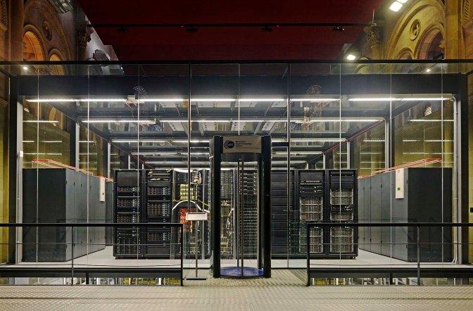 'Marenostrum', una supercomputadora en BCN