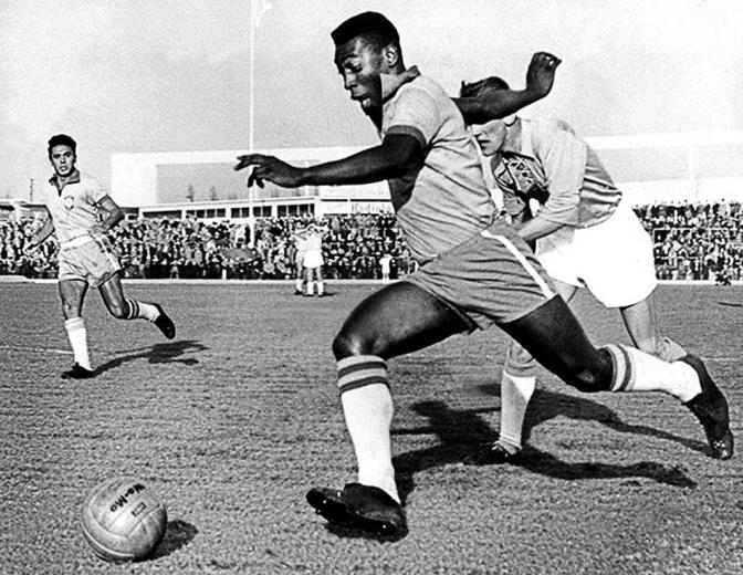 Pelé marcó más de 1.200 goles