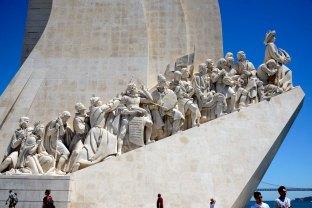 Lisboa, monumento a los Descubridores