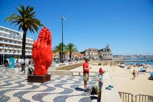 Lisboa, playa de Cascais