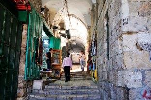 Jerusalem, calles de la Ciudad Anitgua