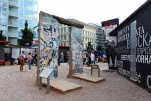 Berlín, cercanías al Checkpoint Charlie